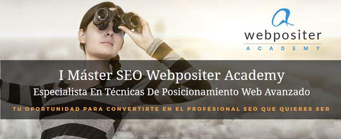 Máster SEO Avanzado webpositeracademy.com